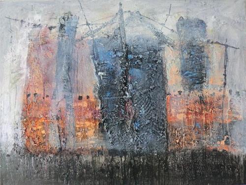 Josef Fekonja, ohne Titel, Abstract art, Miscellaneous Buildings, Contemporary Art