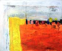 Josef-Fekonja-Abstract-art-Miscellaneous-Landscapes-Modern-Age-Abstract-Art