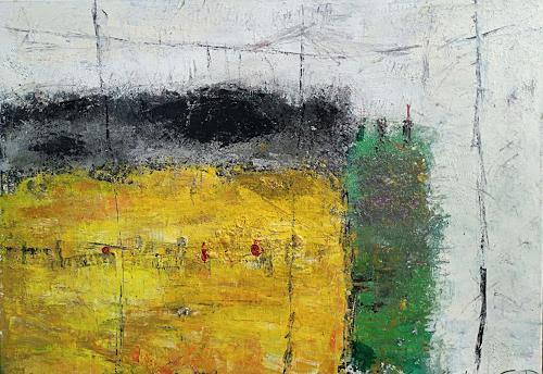 Josef Fekonja, ohne Titel, Abstract art, Abstract Art