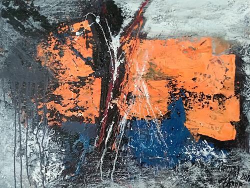 Josef Fekonja, ohne Titel, Abstract art, Fantasy, Abstract Art