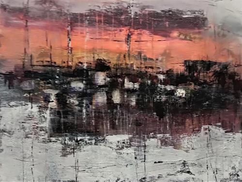 Josef Fekonja, ohne Titel, Abstract art, Landscapes, Contemporary Art