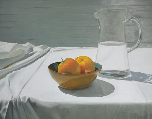 Svantje Miras, Stilleben_1, Still life, Meal, Realism