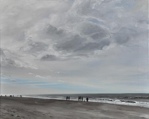 Svantje Miras, Sylt, Landscapes: Sea/Ocean, Landscapes: Beaches, Expressionism