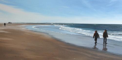 Svantje Miras, Norderney, Landscapes: Sea/Ocean, Landscapes: Beaches, Expressionism