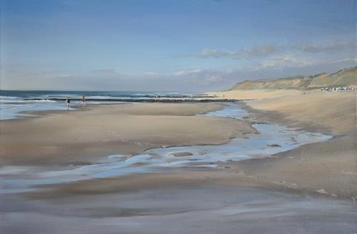 Svantje Miras, Sylt, Rotes Kliff, Landscapes: Sea/Ocean, Landscapes: Beaches, Expressionism