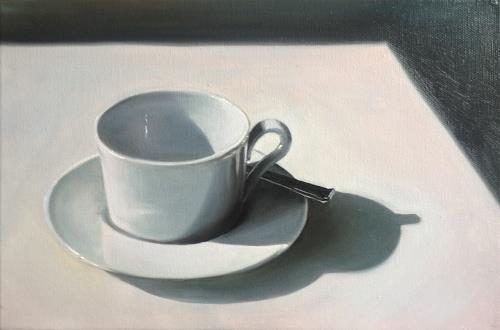 Svantje Miras, Kaffeetasse, Still life, Situations, Realism, Expressionism