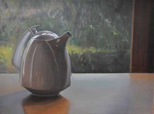 Svantje Miras, Gropius Kanne II, Still life, Situations, Realism, Expressionism