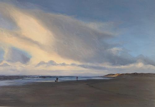 Svantje Miras, Sylt, nach dem Regen, Landscapes: Sea/Ocean, Landscapes: Beaches