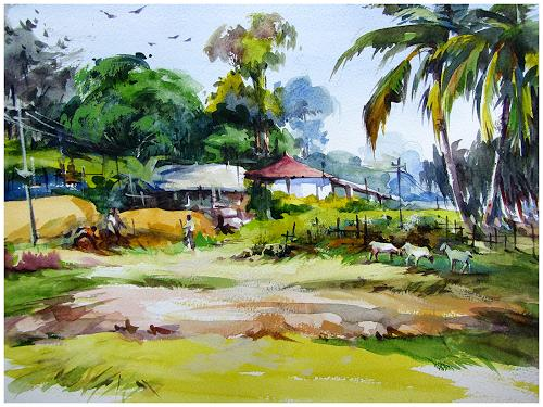 satheesh kanna, From my Native, Miscellaneous Landscapes, Nature: Miscellaneous, Expressionism