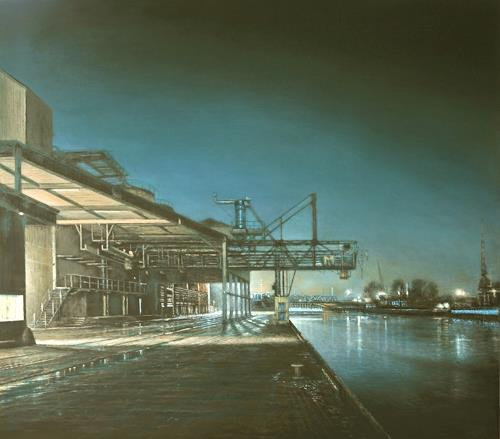 Celso Martinez Naves, Hamm, Industry  , The world of work, Realism, Expressionism