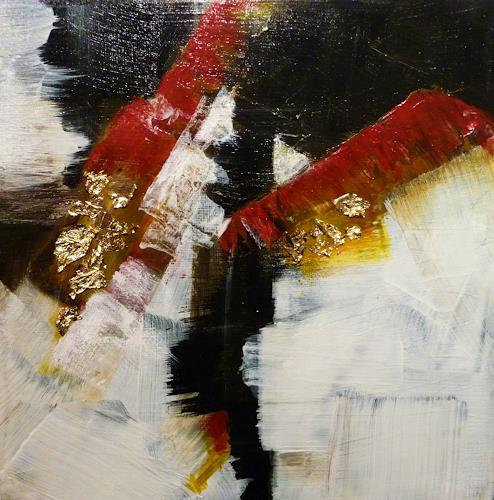 Petra Wendelken, Zerreißprobe, Abstract art, Abstract Art