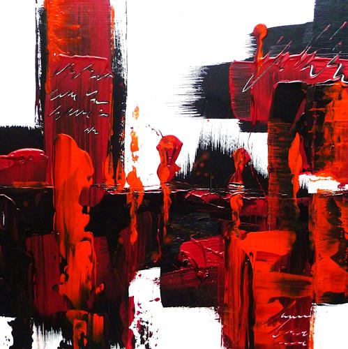 Petra Wendelken, Spiegelung der Gefühle 1, Abstract art, Abstract Art