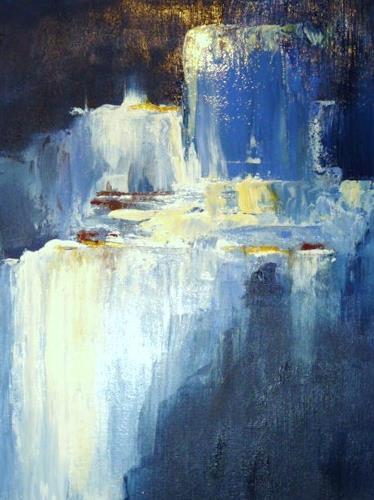 Petra Wendelken, Hydrosphäre, Abstract art, Modern Age
