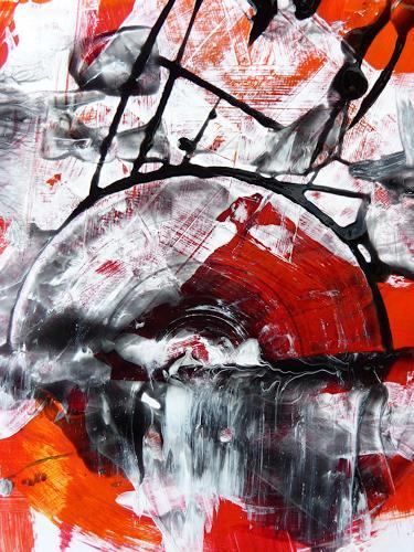 Petra Wendelken, Zeitwirbel, Abstract art, Abstract Art, Expressionism