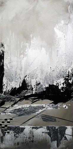 Petra Wendelken, Tagträume 3, Abstract art, Abstract Art