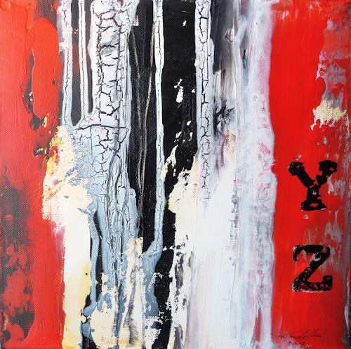 Petra Wendelken, Vergänglichkeit des Seins 2, Abstract art, Abstract Art