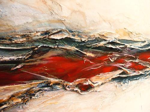 Petra Wendelken, Gedankenströme ( Detailansicht ), Abstract art, Abstract Art, Expressionism