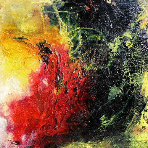Petra Wendelken, Die Wiege der Sonne, Abstract art, Abstract Art, Abstract Expressionism