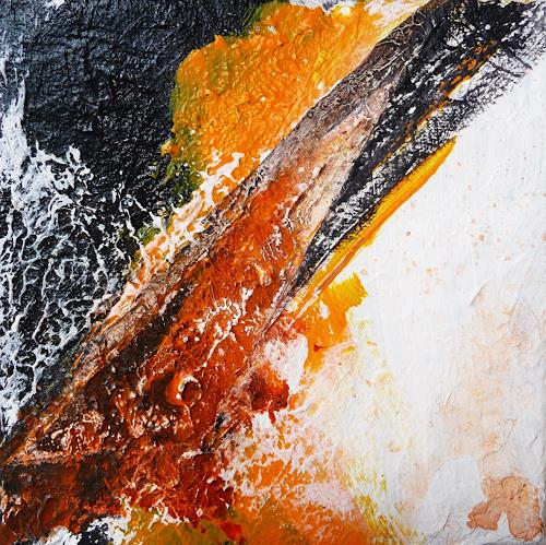 Petra Wendelken, suchen und finden 2, Abstract art, Abstract Art, Modern Age