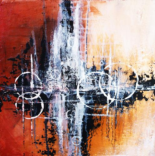 Petra Wendelken, After Dark, Abstract art, Abstract Art