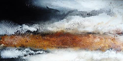 Petra Wendelken, Somewhere, Abstract art, Abstract Art