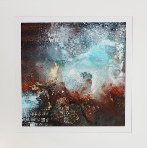Petra Wendelken, Einen Moment......, Abstract art, Abstract Art