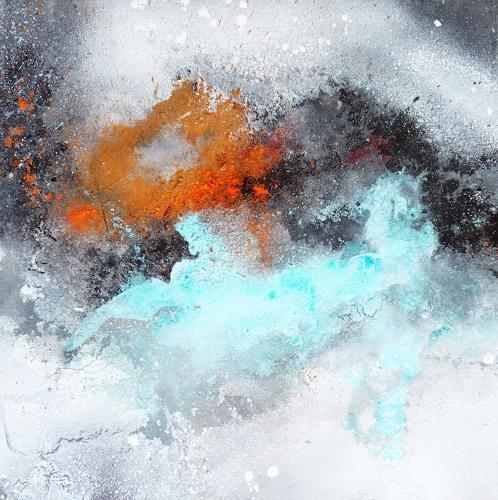 Petra Wendelken, Außerhalb der Zeit 2, Abstract art, Abstract Art