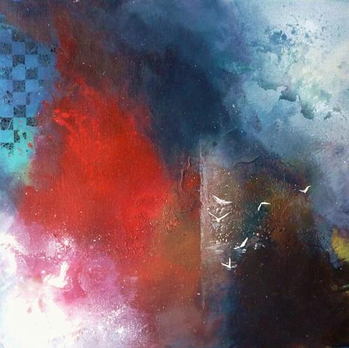 Petra Wendelken, Zwischen Tag und Traum, Abstract art, Abstract Art