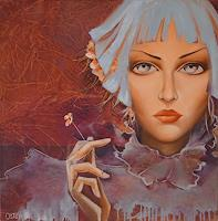 Christine-Oster-Fantasy-People-Portraits-Modern-Times-Realism