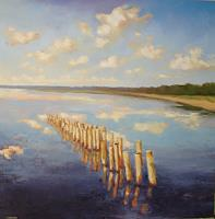 Christine-Oster-Landscapes-Sea-Ocean-Nature-Water-Modern-Times-Realism