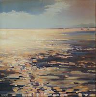 Christine-Oster-Landscapes-Sea-Ocean-Nature-Modern-Age-Expressive-Realism