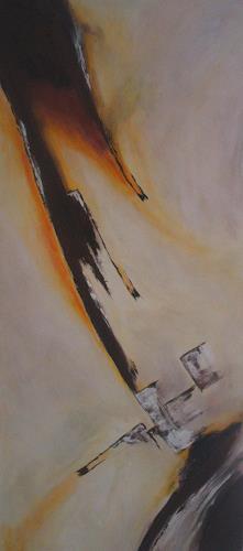 Christa Geßwagner, Acryl auf Leinen, Abstract art