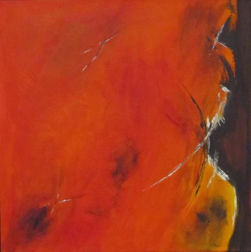 Christa Geßwagner, Acryl auf Leinwand, Abstract art