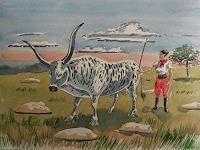 Aufrecht-Reinhold-1-Animals-Land-Modern-Age-Expressive-Realism