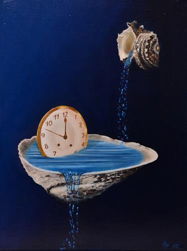 Irene Haas, Lauf der Zeit, Still life, Symbol, Realism