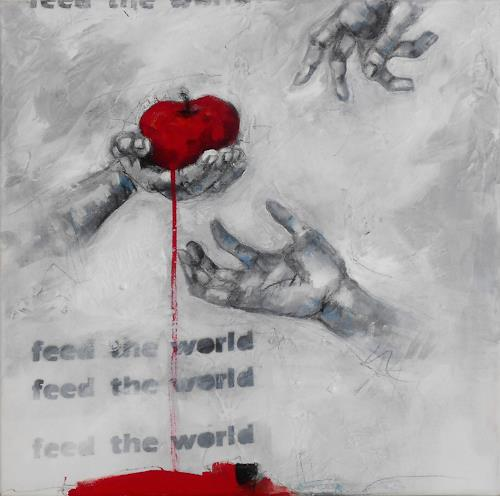 Michaela Steinacher, feed the world, Symbol, Still life, Contemporary Art