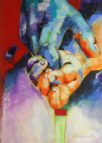 Michaela Steinacher, ...reich mir deine Hand, Emotions: Safety, Still life, Modern Age, Expressionism