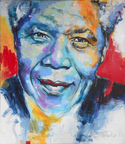 Michaela Steinacher, Nelson Mandela, Society, People: Men, Modern Age