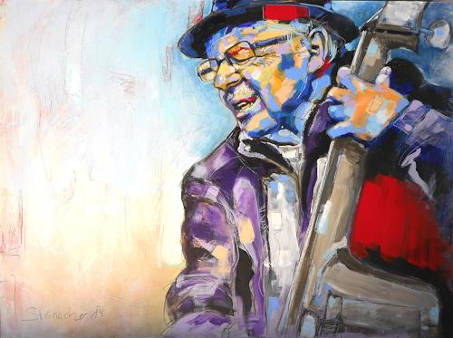 Michaela Steinacher, storyteller3, People: Men, People: Portraits, Abstract Expressionism, Expressionism