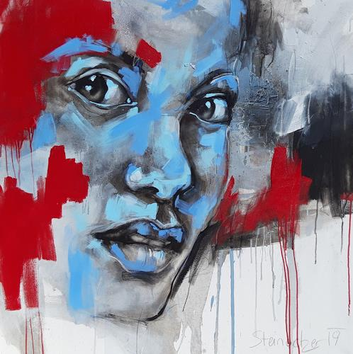 Michaela Steinacher, überrascht, People: Faces, People: Portraits, Expressive Realism