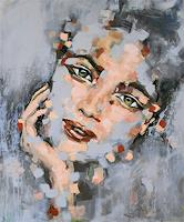 Michaela-Steinacher-People-Faces-People-Portraits-Modern-Age-Expressionism-Abstract-Expressionism