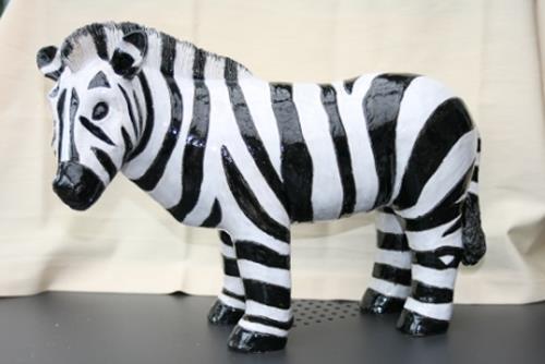 Annamarie + Vic Zumsteg, Zebra  (Annamarie Zumsteg), Decorative Art