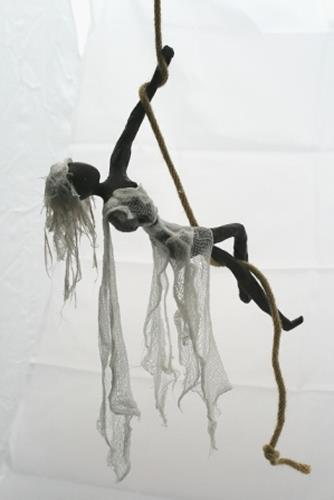 Annamarie + Vic Zumsteg, Seiltänzerin (Vic Zumsteg), Decorative Art, Abstract art