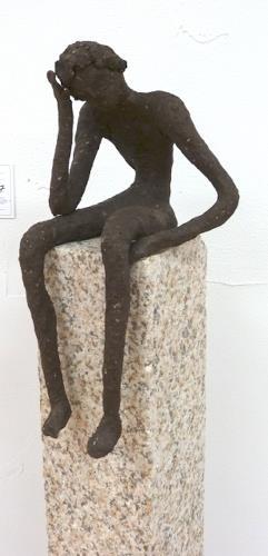 Vic Zumsteg, der Denker (Vic Zumsteg), Abstract art, Decorative Art, Abstract Expressionism