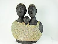 V. Zumsteg, Parents with child / das Paar mit Kind (Annamarie Zumsteg)