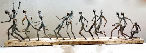 Annamarie + Vic Zumsteg, Run of life / Lauf des Lebens (Vic Zumsteg), Abstract art, Decorative Art, Abstract Art, Abstract Expressionism