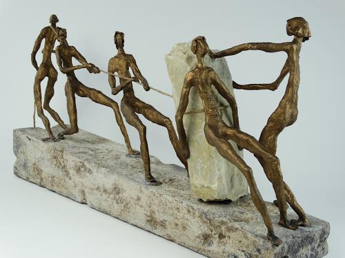 Vic Zumsteg, gemeinsam sind wir stark (Vic Zumsteg), Fantasy, Decorative Art, Expressionism