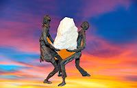 Annamarie---Vic-Zumsteg-Decorative-Art-Emotions-Joy-Modern-Age-Abstract-Art