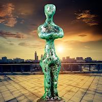 Annamarie---Vic-Zumsteg-Abstract-art-Fantasy-Modern-Age-Art-Deco