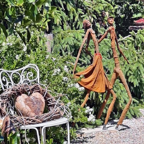 Vic Zumsteg, verliebtes Paar  (Vic Zumsteg), Abstract art, People: Couples, Romanticism, Expressionism
